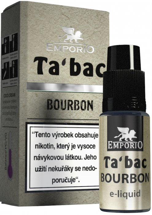 Liquid EMPORIO Bourbon 10ml - 18mg