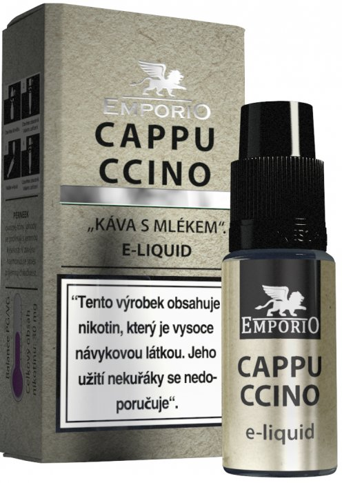 Liquid EMPORIO Cappuccino 10ml - 18mg