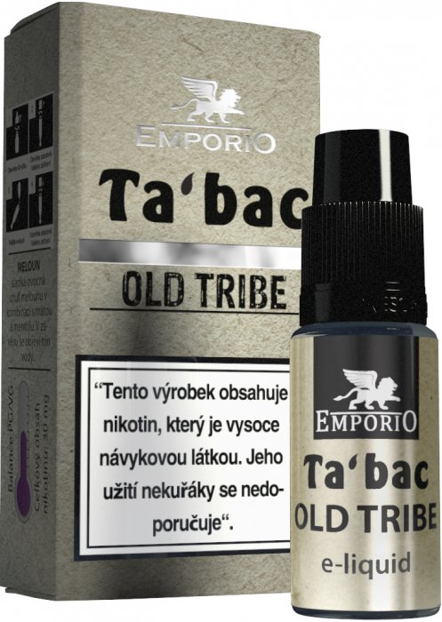Liquid EMPORIO Old Tribe 10ml - 18mg