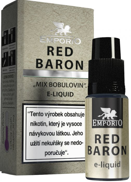 Liquid EMPORIO Red Baron 10ml - 18mg