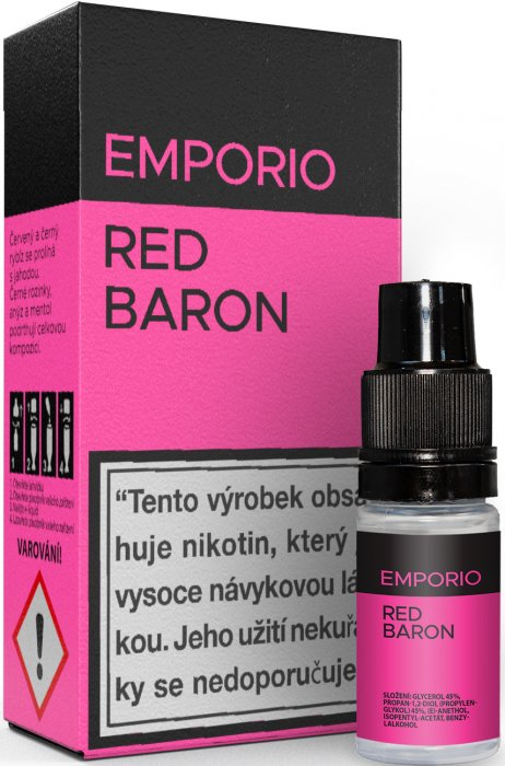 Liquid EMPORIO Red Baron 10ml - 9mg