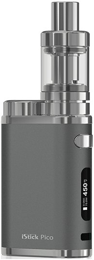 iSmoka-Eleaf iStick Pico TC 75W full Grip Grey
