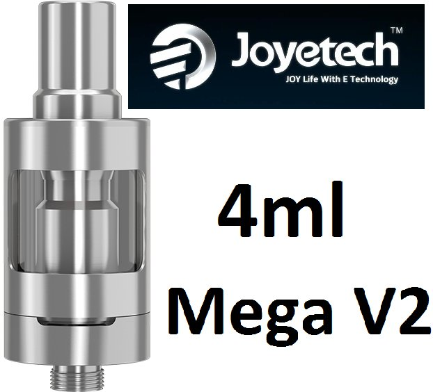 JOYETECH EGO ONE MEGA V2 CLEAROMIZER 4ML SILVER