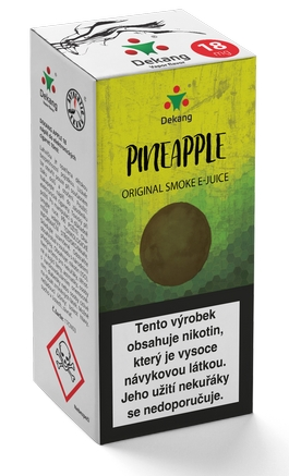 Dekang Classic Pineapple 10ml 11mg (ananas)