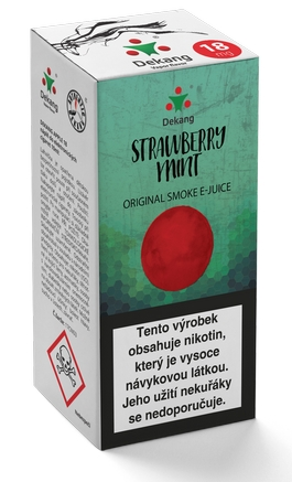 Dekang Classic Strawberry Mint 10ml 11mg (jahoda s mátou)