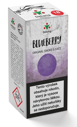 Dekang Classic Blueberry 10ml 18mg (borůvka)