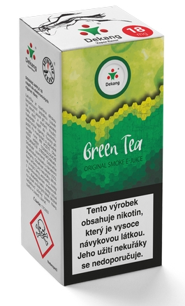 Dekang Classic Green Tea 10ml 18mg (zelený čaj)
