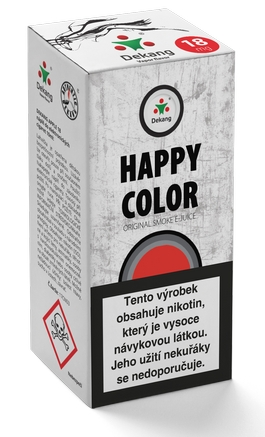 Dekang Classic Happy Color 10ml 18mg (tabáková chuť)