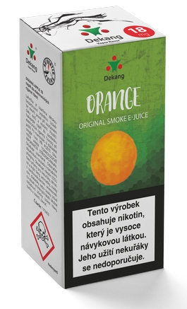 Dekang Classic Orange 10ml 18mg (pomeranč)