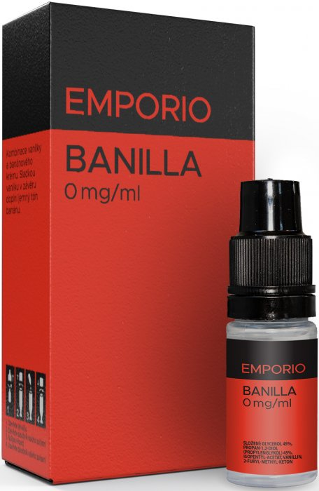 Liquid EMPORIO Banilla 10ml - 0mg