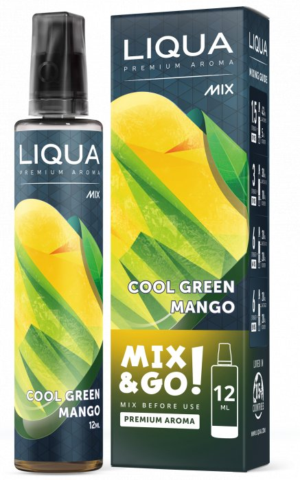 Liqua Mix&Go 12ml Cool Green Mango
