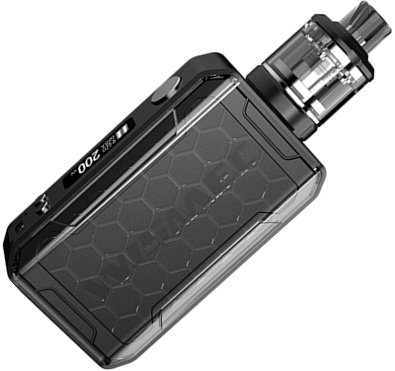 Wismec Sinuous V200 TC 200W grip Full Kit Black 1ks