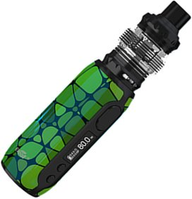 iSmoka-Eleaf iStick Rim Grip Full Kit 3000mAh E-Green