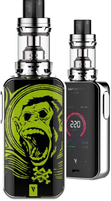 Vaporesso LUXE S TC220W Full Kit Green Ape 1ks