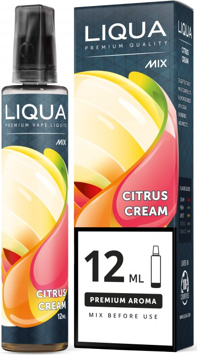 Liqua Mix&Go 12ml Citrus Cream