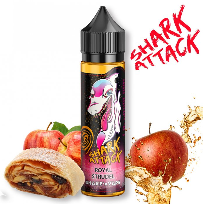 Příchuť IMPERIA Shark Attack - Shake and Vape 10ml Royal Strudel