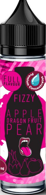 Příchuť Big Mouth Shake and Vape 12ml Fizzy Apple, Dragon Fruit, Pear