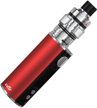 iSmoka-Eleaf iStick T80 Pesso Grip Full Kit 3000mAh Red